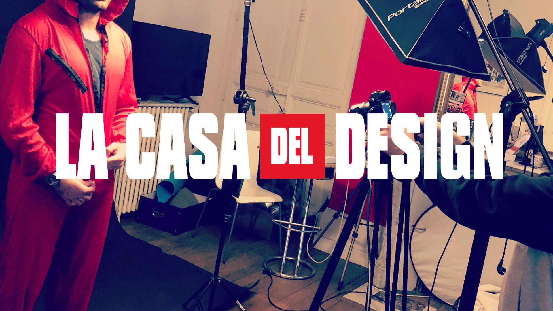LA CASA DEL DESIGN MAKING OFF